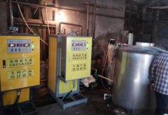 亚飞凌屠宰场三台30千瓦电热水锅炉项目