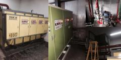 亚飞凌新疆阿克苏拜城滴水铜矿2台400KW电热水锅