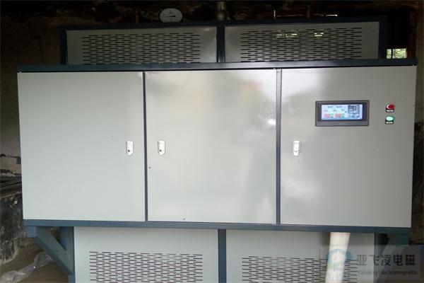 亚飞凌徐州睢宁中学餐厅200KW电磁蒸汽锅炉项目